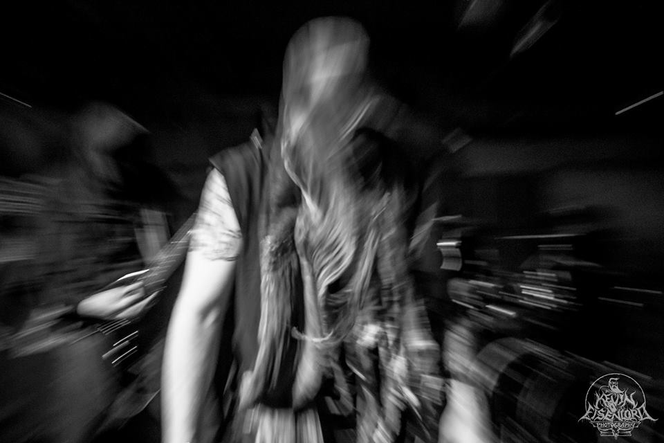 KAFIRUN band live concert photo images blackmetal canada death worship