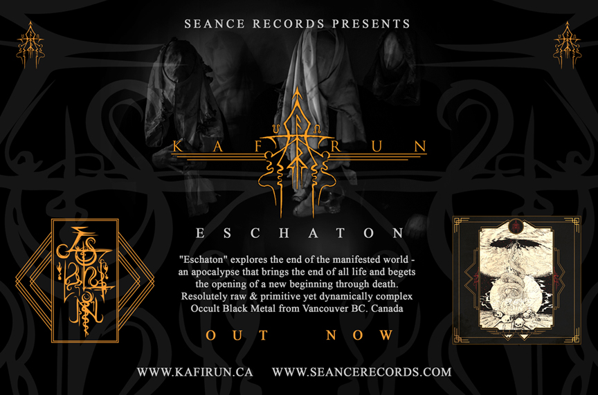 Kafirun Eschaton CD Album Out Now Ad